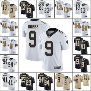New OrleansSaintsMen #9 Drew Brees 41 Alvin Kamara 13 Michael Thomas 94 Cameron Jor dan Women YouthNFL Limited Jersey
