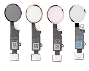 10 adet / grup Yedek Yeni Ana Düğme Ana + Anahtar Cap Meclisi Parçaları Flex Kablo Şerit iphone 7 7G 7 Artı 8G 8 Artı