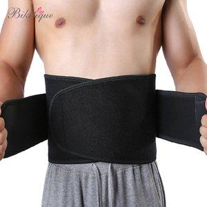 Похудение высокое мужское качество клейкий поясной ремень неопрен тепловой мужчины Спорт Shaper пояс пот Tranier поясной ремень