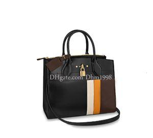 Dhm1998 19 Art und Weise Neue Dame-Schulter-Beutel-freier Verschiffen-Leder-Handwerk Handtasche große Kapazitäts-Einkaufstasche Brown Zipper