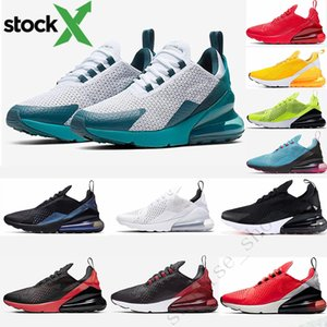Nike Air Max 270 2020 Air Cushion 27c Running Shoes Orbit Espírito Universidade Teal Bred Triplo Preto Tripler Branco vapores Sneakers para as Mulheres Homens Trainers Maxes