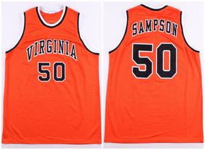 ncaa Virginia Cavaliers College Ralph Sampson jersey throwback Basketball Jersey Mens Stitched Custom sizeS-5XL