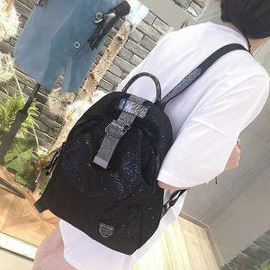 Diamond Shoulder Bag Female 2020 Super Fire Beads Grid Cloth Retro Casual Net Red Backpack Portable Female Bag Mochila Feminina