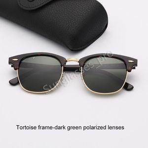 Polarized Sunglasses Designer Fashion Sun Glasses Woman Men Brand Sunglasses Eyeware Tortoise Frame Des lunettes De Soleil with 1.1 Pack