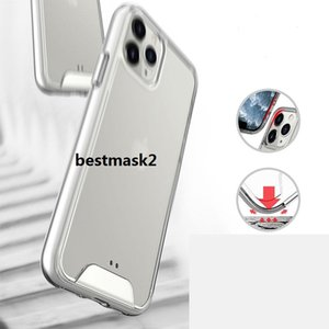 Cell Phone Case Transparent Phone Case For iPhone 11 Pro MAX XS XR X 8 Plus Anti-knock TPU Protective Shockproof Clear Cover