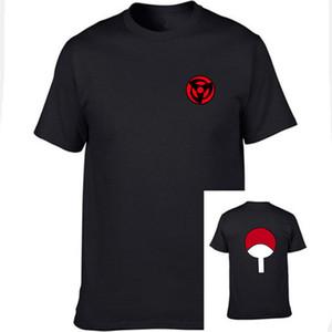 2018 Hot Fashion Dernières T-shirt Anime Naruto T-shirt À Manches Courtes Pour Hommes Femmes Unisexe O-Cou Chemises Uchiha Famille Marque dessus