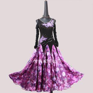 Customize New ballroom dance dress standard ballroom waltz dresses dance competition dresses custom made LXT1110