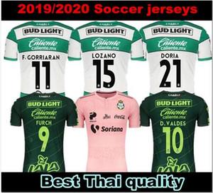 Santos Laguna 19 de 20 méxico liga MX Jogar camisas de futebol cor-de-casa de distância 2019 2020 PlayPink Furch LOZANO camisas de futebol AYRTON Camiseta Rosa