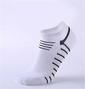 Breathable Socks Spring Summer Free Size Male Clothing Mens Sports Socks Athletic Striped Print Ankle Length