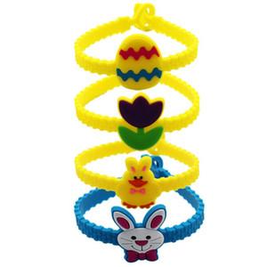 2019 New Arrival Fashion Cartoon Slap Snap Easter Sunday Bracelet Wristband Kid Girls boys Jewelry Gift Free Shipping