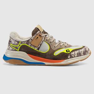 mejor calidad de los zapatos de las mujeres de moda Ultrapace zapatilla de deporte los hombres del diseñador Nuevo zapatos casuales estilo de la marca tamaño 35-46 modelo QJ01