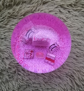 Новый C Рождество Подарок Snow Globe Специальный красный снежинки внутри C Classics Letters Crystal Ball с подарочной коробке Limited подарок для VIP-Клиента