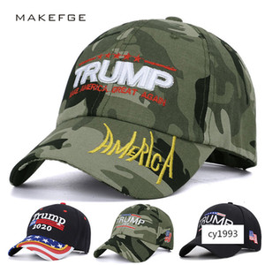 US election President Camouflage baseball outdoor trump 2020 hat embroidery