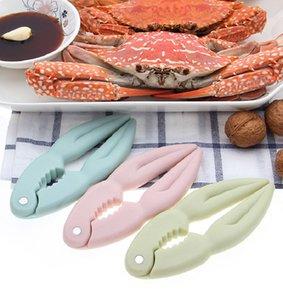 Краб Tong орех клип 3 цвета алюминий морепродуктов Моллюски краб Бисквит Lobster Cl орех Food Бисквит Кухня Гаджет