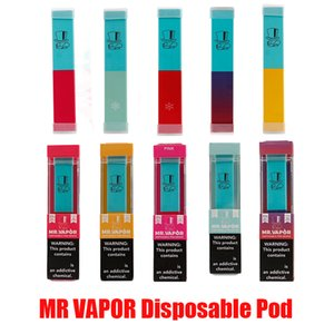 MR VAPOR à usage unique appareil Pod Starter Kit batterie 280mAh de cartouche pods Vape Pen VS BIDI Bâton HYPPE BAR En stock