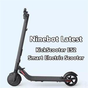 Xiaomi youpin Ninebot KickScooter ES2 Dernières V1.5 intelligente Scooter électrique 30 kmh Coup de pied pliable Scooter Hoverboard longboard Skate