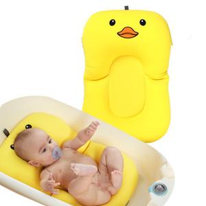 Dusche Tragbare Luftkissen Bett Babys Infant Baby Pad rutschfeste Badewanne Matte Neugeborenen Sicherheit Sicherheit Bad Sitz Unterstützung Q190531