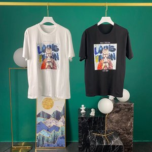 2020 popular new short sleeve T-shirt pure cotton fabric Unisex Size: s-2xxl stock 111