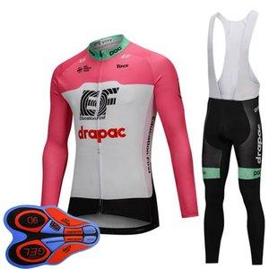 pantolon takım elbise Y111304 önlük 2019 Yeni Takım EF Education First Bisiklet Jersey seti erkekler Uzun Kollu Hızlı Kuru MTB Bisiklet giyim bisiklet forması