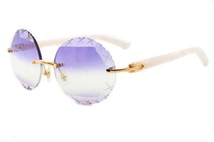 Yuvarlak güneş gözlüğü 3524012 (A) yüksek dereceli oyma model güneş gözlüğü Retro vivien moda ultra hafif metal temple B