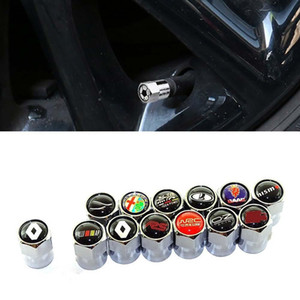 Yeni Stil Araba Rozet Jant Lastik Vana kapağı Lastik Toz Kapağı İçin BMW opel alfa lada renault audi Nissan Volvo Mustang Daica SAAB Ücretsiz Kargo
