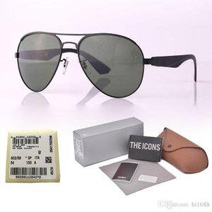 2020 New Arrival Sunglasses for Men women Brand Designer Metal Frame Polarized Lens Sport driving glasses with Retail box and label
