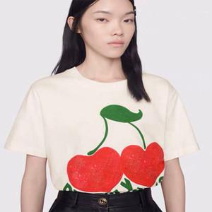 Vêtements de mode années 2020 t-shirt des hommes de sex-appeal homme à manches courtes femmes lettre imprimé punk été Skateboard beverly collines de cerise en tête Casual Tee