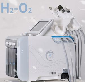 Gesichts-Hydro-Dermabrasion-Maschine Sauerstoffpflege Diamond Microdermabrasion-Gesichtsschale BIO Face Lift Ultraschallgerät Tiefenreinigung