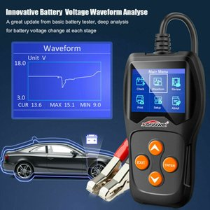 UK NEW 12V Load BatteryTester Digital Car Battery Analyzer Multi Language KW600
