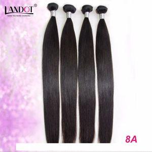 Brazilian Virgin Human Hair Weaves Bundles 3 PCS Unprocessed 6A 7A 8A 10A Peruvian Malaysian Indian Cambodian Straight Remy Hair Extensions