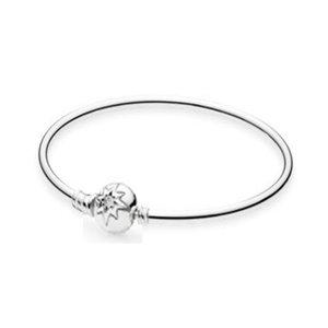 NEW 100% Argent 925 de haute qualité 590715CZ Explosion Snowflake Basic Bracelet Fit bricolage Charm femmes Bijoux originaux Mode cadeau