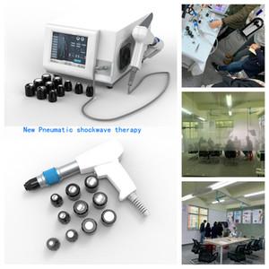 La máquina portátil de ondas de choque de presión de aire puede usarse para aliviar el dolor corporal adelgazar la fisioterapia corporal y el tratamiento de la disfunción eréctil