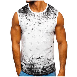 Mens Singlet Sleeveless Shirt Muscle Guys Shirts Workout Singlet Top Fitness Bodybuilding Tank Tops Camouflage Basketball Vest
