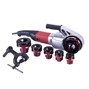 A set1 2 inch portable 120V   230V small integrated hand-held electric threading machine threaded plug-in threading machine