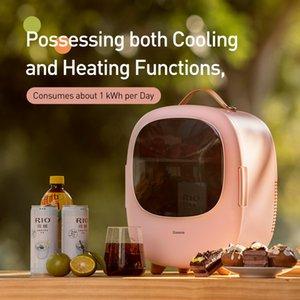 Новый продукт 8L Портативный автомобильный холодильник мини-холодильник морозильник отопление холодильник компрессор с AC / DC шнур питания для автомобиля Home C