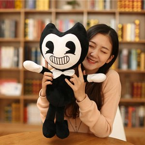 50CM Bendy Doll And The Plush Ink Machine Toys Stuffed Halloween Thriller Game Plush Toy Plush Doll Soft Toys For Children Gift Y200703