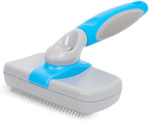 Escova Dog UPSKY de Auto-limpeza do cão rasqueadeira Pet Grooming Derramamento Brush Tool Cat Brush, remove suavemente solta Undercoat