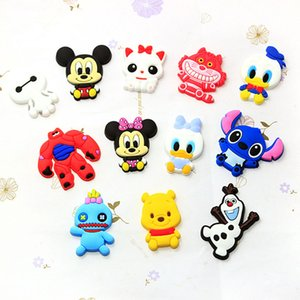 1 pcs(without magnet) Cartoon silicone diy material,fridge magnets accessories,brooch,shoe buckle,clip Hand making material -192