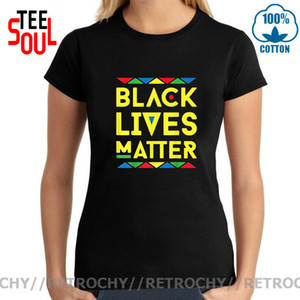 Retrochy Black lives matter T shirt Antiracism movement women t-shirt Black History Protest Stand Up Tops Tee 2020 Quotes Tshirt