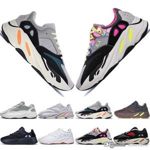 Kanye West V2 estático az 3M reflectante zapatillas de deporte Nuevo lanzado con la caja EF2829 Realboost zapatos zapatos superiores de la manera material correr