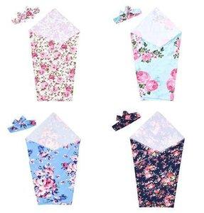Bag 80 Sleeping Stok Ins Bebek Battaniye Suit Sıcak Pamuk Battaniye Kafa Bebek Kundak Çiçek Dijital Bebek Yatağı Sayfasında * 65cm By0826