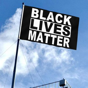 American Black Lives Matter Banner Flags 90*150cm BLACK LIVES MATTER Flag 3*5ft I Cant Breathe Banners Outdoor Peace Protest Flag BH3839 TQQ