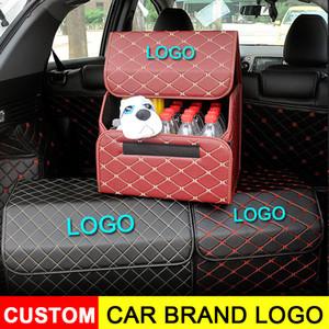 Автомобиль Магистральных Организаторы Eco-Friendly сверхпрочных Прочные мешки Складной Cargo хранения для грузовиков SUV Trunk Box
