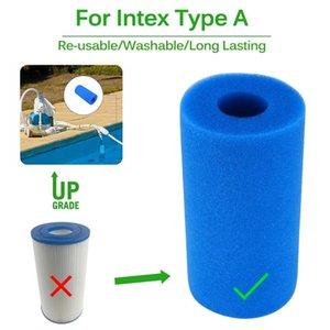 Piscina de espuma filtro Intex Tipo A Esponja reutilizável lavável Biofoam Filtro Clean Water Foam Piscina Acessórios Piscina Piscine