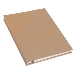 Kraft Paper Manual DIY Album Adhesive Film 25 Sheets Self-adhesive Family Memory Paste Record Scrapbook