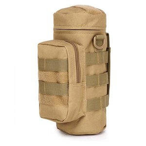 Camping Sports Water Bag Outdoor Tactical Military Molle System bottle Bag Kettle Pouch Holder