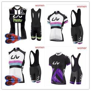 2018 Summer Breathable Liv Women Cycling 민소매 저지 소재 반바지 세트 Quick Dry 의류 사이클 스포츠웨어 Hot Sale Cycle Clothing