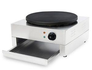 Elétrica Crepe máquina Crepe Comercial LCD, máquina de uso doméstico crepe tomada, muito popular Panqueca Waffle