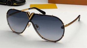 yeni moda tasarımcısı gözlük pilotlar stil 0897 çerçevesiz yansıtıcı kaplama zarif el yapımı anti-UV koruması Ourdoor UV400 güneş gözlüğü