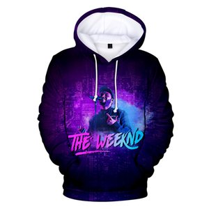 the weeknd 3D hoody women men 2019 Aikooki Hot Sale Fashion Print Casual Hip Hop the weeknd 3D hoodie Casual Coats tops